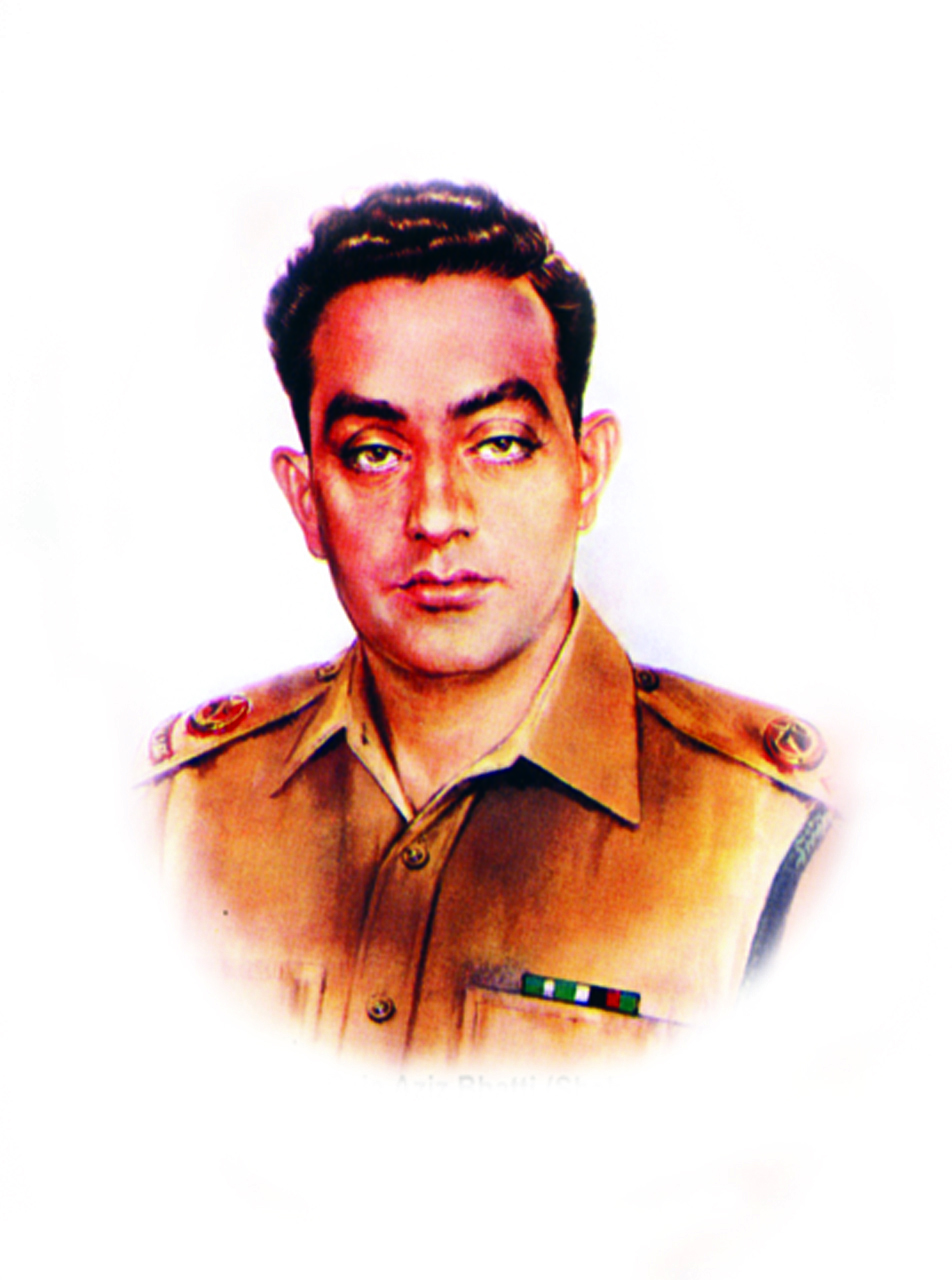 3.Major Raja Aziz Bhatti