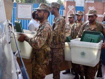 لودھراں ضمنی الیکشن میں فوجی