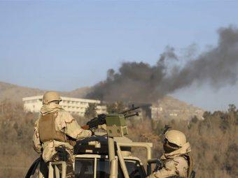 کابل ہوٹل حملے میں ہلاکتیں