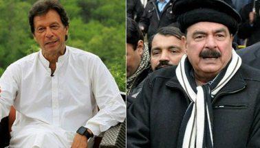 عمران خان، شیخ رشید کے
