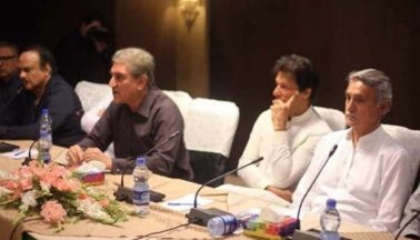 تحریک انصاف، استعفوں پر فیصلے
