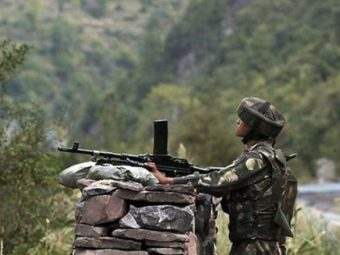 ورکنگ باؤنڈری پر بھارتی فوج