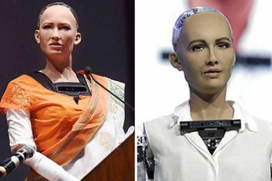 سعودی شہری روبوٹ
