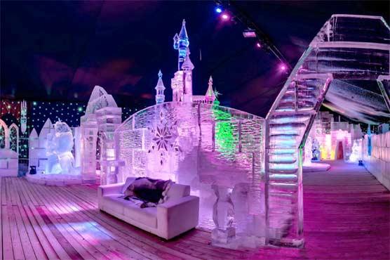 برف سے مجسمہ