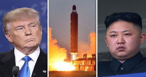 شمالی کوریا بیلسٹک میزائل