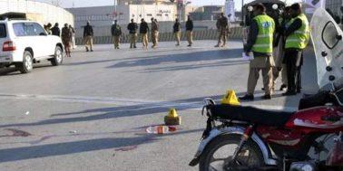 کوئٹہ میں فائرنگ سے 2 پولیس