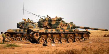 ترک فوج کے ٹینک اور