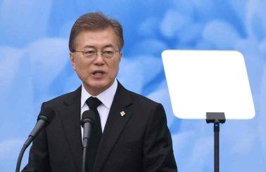 S. Korea's Moon
